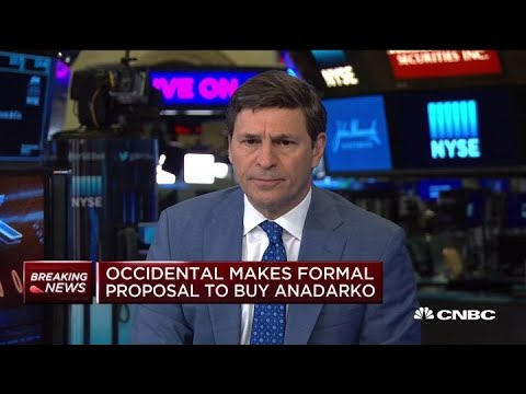Occidental makes formal proposal to buy Anadarko