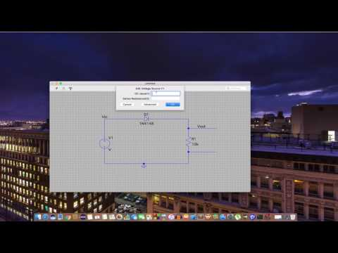 LTSPICE Tutorial For MAC