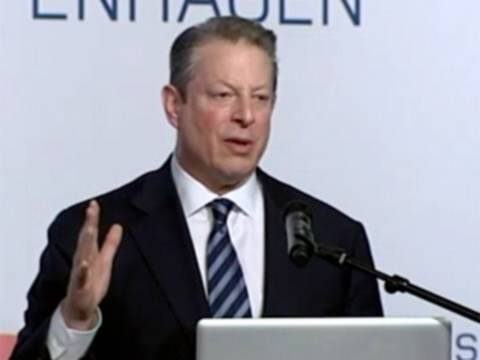 Al Gore Warns Polar Ice May Be Gone in Five Years