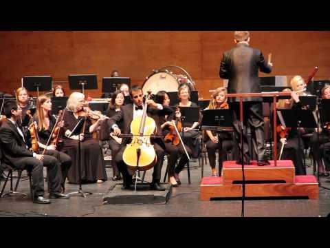 Tchaikovsky - Variations on A Rococo Theme - Unusdian Errandonea, CofC Chamber Orchestra