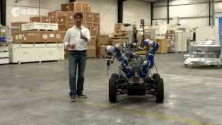 Telerobotics head introduces Interact rover