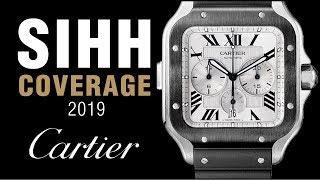 SIHH 2019: Cartier Privé Tonneau, and Santos XL Skeleton Noctambul!