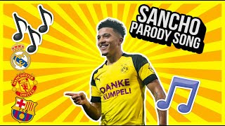 🎵So Sancho🎵- Jadon Sancho transfer funny parody song | Man United? Barca? Real Madrid? [Jim Daly]