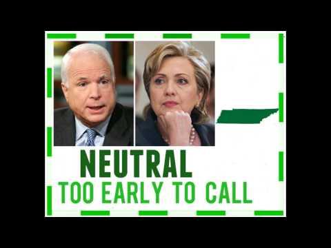 Alternative History 2008 Election Hillary Clinton vs John McCain