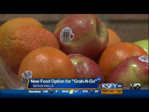 New grab and go food option at Sioux Falls Washington High School 12/5/14 KSFY