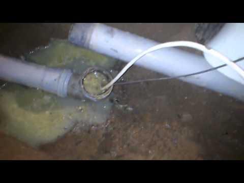 Размораживаем слив воды в частном доме