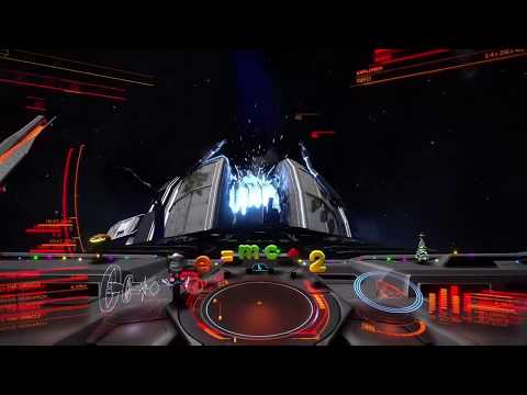 Elite Dangerous - Ever tried flying into the exposed core of a nuclear fusion reactor?
