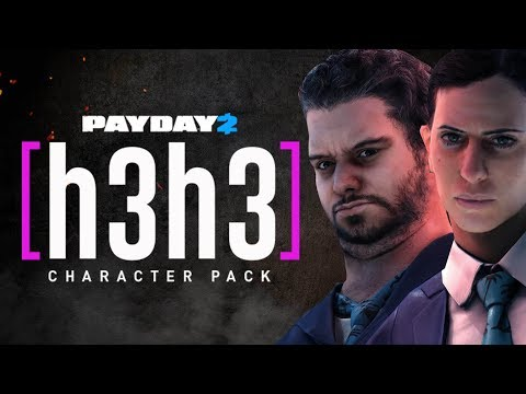 PAYDAY 2 - H3H3 Character Pack is here! Ethan and Hila Characters!