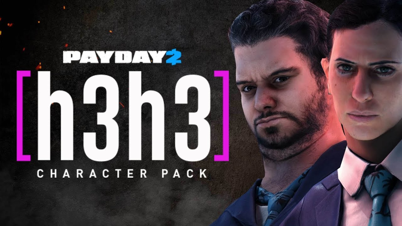 Payday 2 H3h3 Character Pack Is Here Ethan And Hila Characters