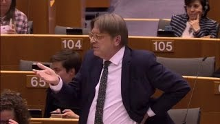 Guy Verhofstadt 26 Apr 2017 plenary speech on Situation in Hungary