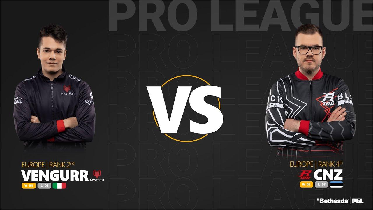 vengeurR vs cnz - Quake Pro League - Stage 1 - Week 8