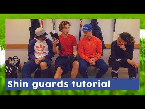 How To Put On Your Shin Guards - Field Hockey Gear | HockeyheroesTV
