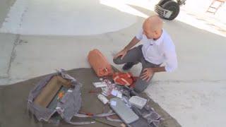 ماذا تحوي حقيبة الطيار الروسي في أجواء سوريا؟ (فيديو)