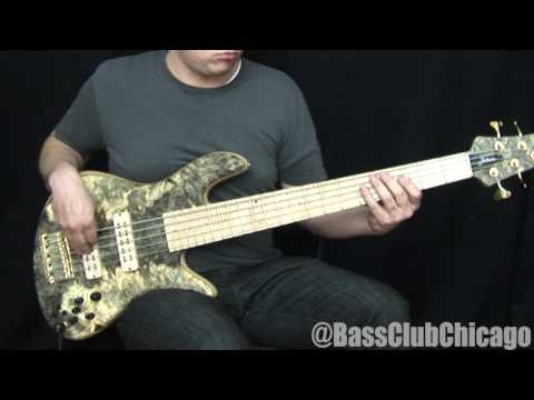 Download Youtube: Fodera Emperor Buckeye Deluxe 5 Bass demo from BCC