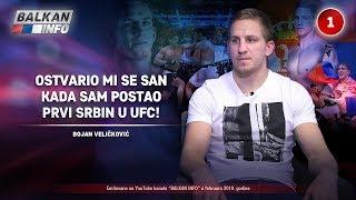 INTERVJU: Bojan Veličković - Ostvario mi se san kada sam postao prvi Srbin u UFC! (10.2.2019)