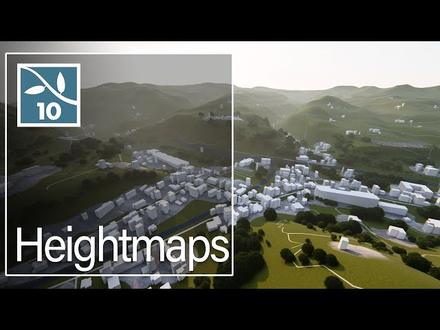 Lumion 10: Heightmaps - Real Context Renders