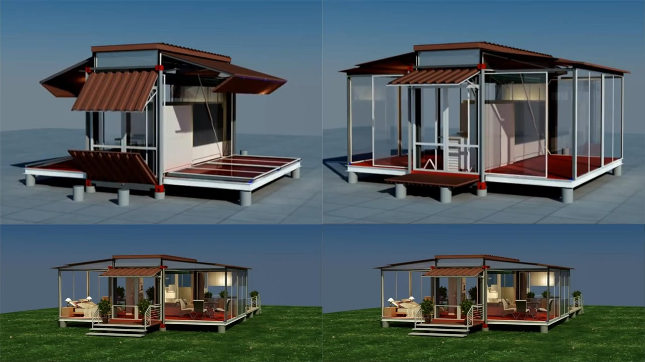 Shipping Container House That Is Expandable And Comfortable YouTube