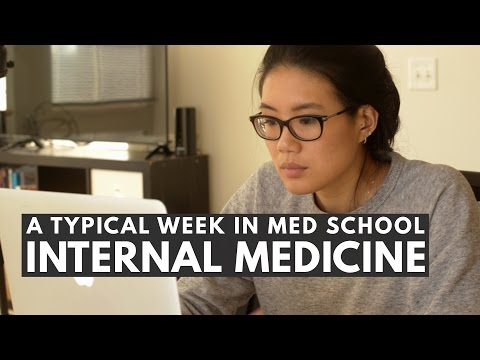 A TYPICAL WEEK IN MED SCHOOL: Internal Medicine | 3rd Year of Med School VLOG