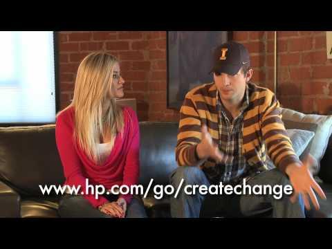 Ashton Kutcher & iJustine discuss The Beautiful Life