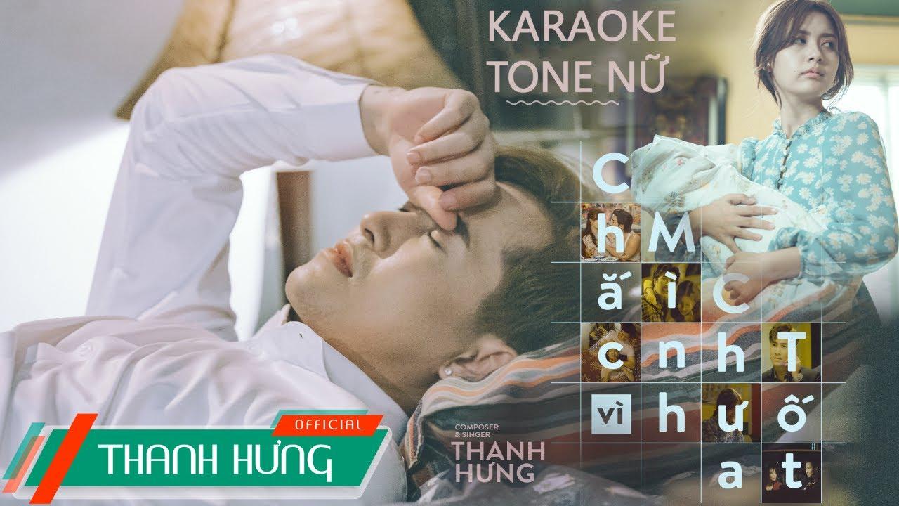 [Karaoke] CHẮC VÌ MÌNH CHƯA TỐT (ADMDM2) | THANH HƯNG | Beat Tone Nữ