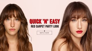 How To Create A QuickNEasy Red Carpet Party Look | Charlotte Tilbury