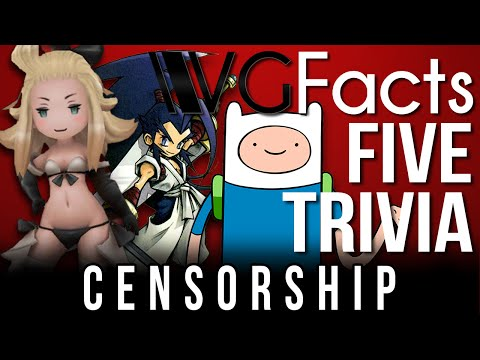 5 Censorship Trivia – VG Facts Five Trivia Feat. Caddicarus