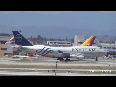 Plane Spotting @ LAX Part 27