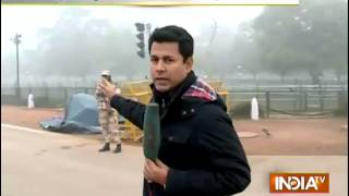 Cars and Trains Cripple Due to Heavy Fog in Delhi/NCR - India TV