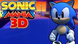 Sonic Mania 3D   Stunning Studiopolis! (Sonic Fan Games)