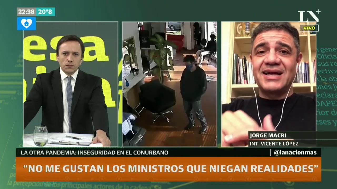 """Jorge Macri: """"No me gustan los ministros que niegan realidades"""""""