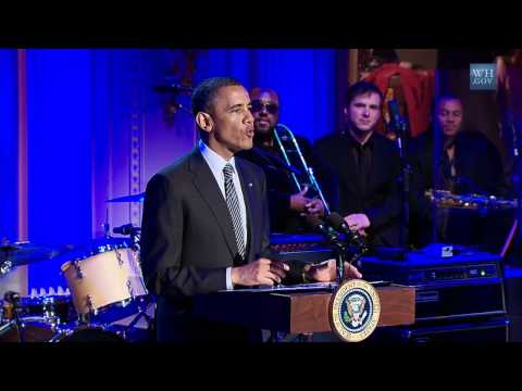 President Obama Hosts In Performance at the White House - Memphis Soul