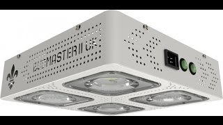 icemud grow videos budmaster led cob x 4 grow light unboxing test and review
