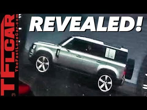 Breaking News: 2020 Land Rover Defender Spied Inside, Outside, AND Underneath!