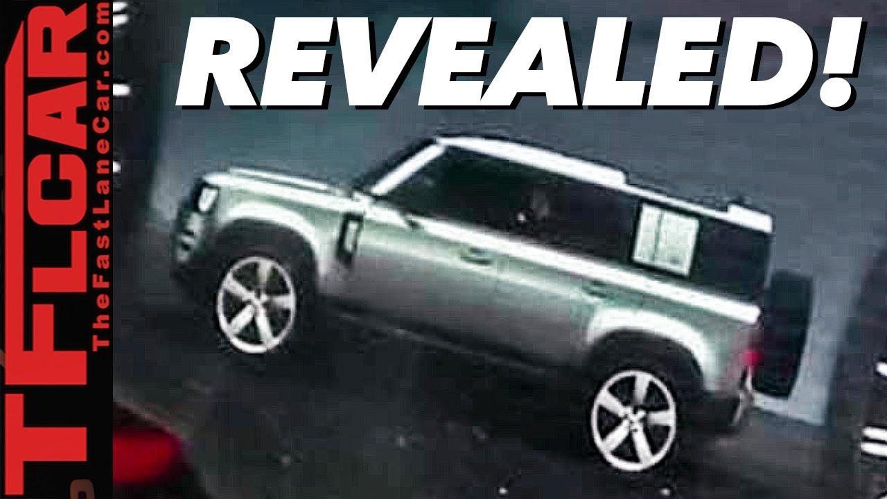 2020 Land Rover Defender Release Date >> Breaking News 2020 Land Rover Defender Spied Inside Outside And Underneath