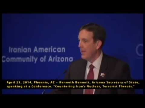 April 25, 2014, Phoenix, AZ -- Kenneth Bennett, Arizona Secretary of State