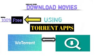 HOW TO DOWNLOAD ANY MOVIES USING ANDROID APPLICATION.