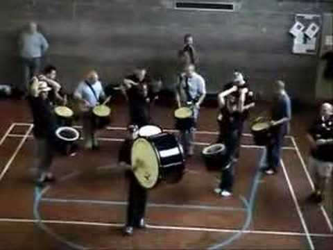 RAF Halton Pipes and Drums - World Champs Friday Warm-Up