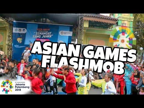 ASIAN GAMES DANCE FLASHMOB 2018 ! AYO NONTON ASIAN GAMES DIJAKARTA & PALEMBANG #AGDANCECHALLENGE