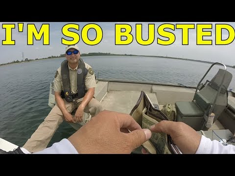 Lake Bastrop Schooling Bass On Topwaters, And Busted By The Game Warden July 2018