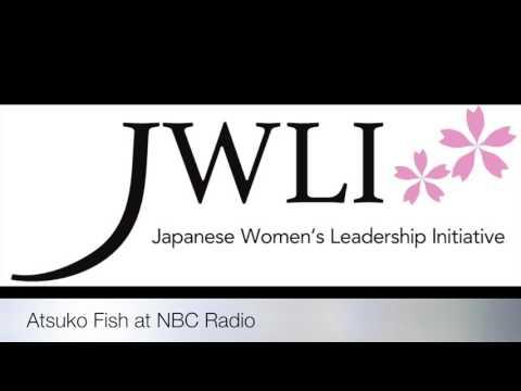 Atsuko Fish on NBC Radio in Nagasaki