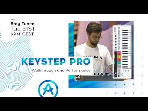 Live Workshop | KeyStep Pro: Walkthrough and Performance (with Seb Rochard)