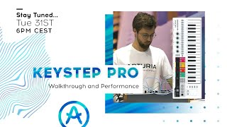 Live Workshop | KeyStep Pro: Walkthrough and Performance (with Seb Rochard)
