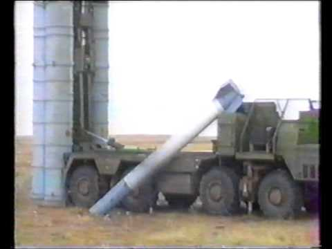 Уникальное видео падения ракеты системы С-300  Accident Of The SA-20