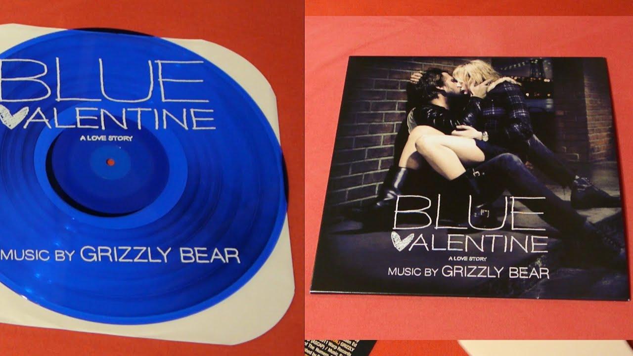 BLUE VALENTINE Vinyl SOUNDTRACK Blue LP Grizzly Bear Ryan Gosling Unboxing