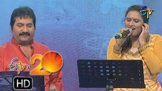 Mano,Kausalya Performance - Nee Kanti Choopullo Song in Karimnagar ETV @ 20 Celebrations