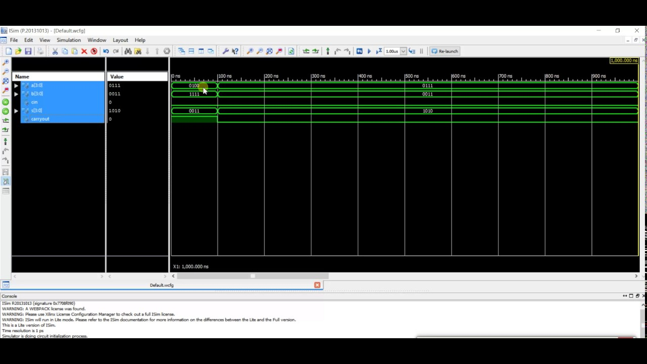 Vhdl Code And Testbench For 4 Bit Binary Adder Using Sms