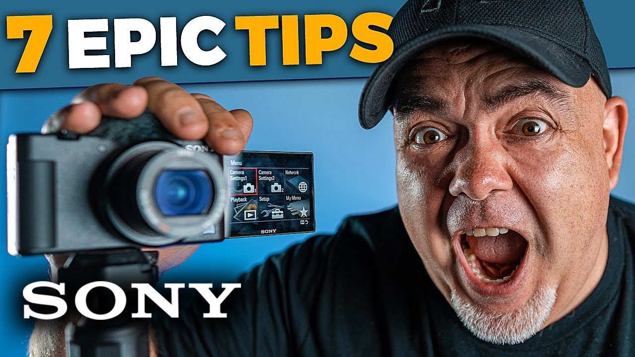 7 Sony ZV-1 Tips in 90 seconds