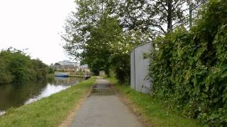 Towpath Cycling along the Regent