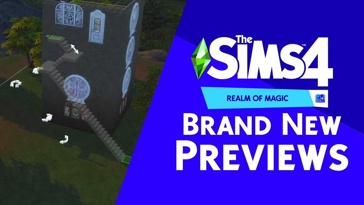 The Sims 4 Realm of Magic: Brand New Previews + Release Info thumbnail