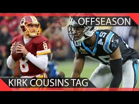 Kirk Cousins Franchise Tag - Why the Redskins had the BEST offseason in the NFL